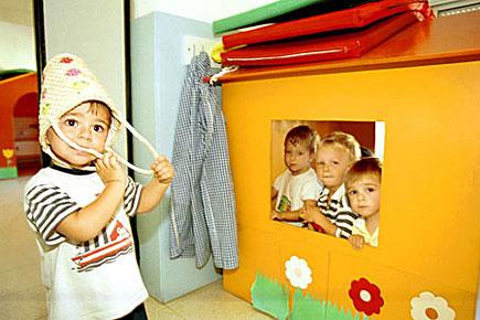 En la guardería los niños aprenden a convivir, compartir y jugar