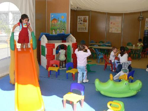 Para elegir una guardería considere :profesores, espacio, seguridad y limpieza