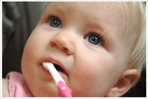 El cepillo de dientes puede usarse a partir del primer año