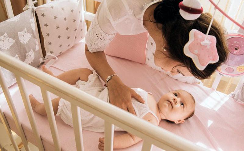 Cómo acostar al bebé