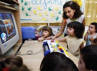 Las computadoras desarrollan el lenguaje en niños de 3 a 5 años