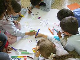 Los niños con inteligencia espacial son hábiles para dibujar