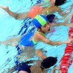 La natación es un buen deporte para los más pequeños