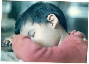 niño dormido