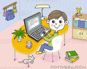 nino-utilizar-computadora