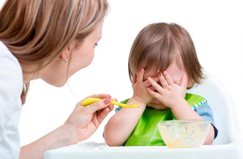 ¿Por qué mi bebé no quiere comer?