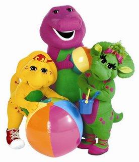 Barney fomenta la imaginación en los niños