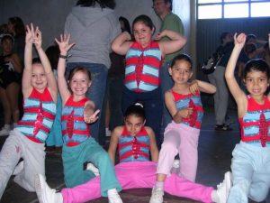 taller de aeróbico infantil