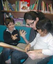 la lectura en los niños sordos