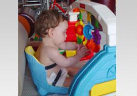 Juegos cómodos y sencillos para niños con discapacidad
