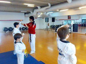 Taller de tae-kwon-do