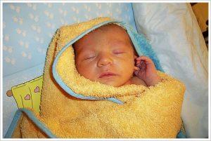 bañar a los bebes con fiebre