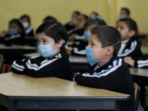 Usar mascarillas, en el salón de clase