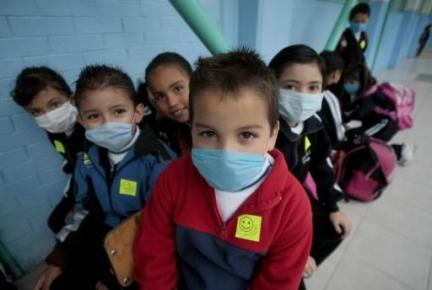 Gripe A y niños