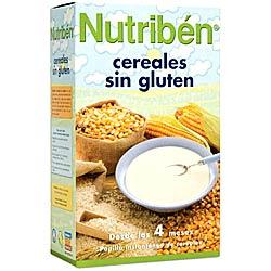 Cereales sin gluten para bebés