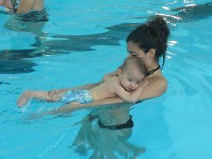 Madre-hijo, clases de natación