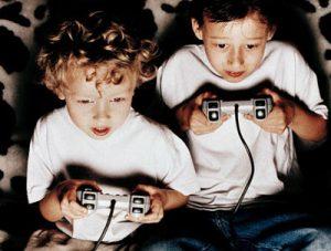 Niños en los videojuegos
