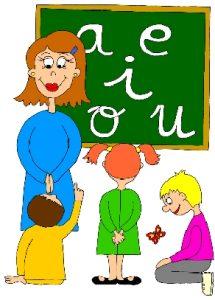 Adivinanza de las vocales para niños