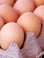 Copas de los huevos