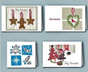 Tarjetas de navidad al estilo kireei cuidado infantil - Postal navidena infantil ...