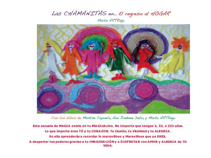 libros infantiles: las chamanitas