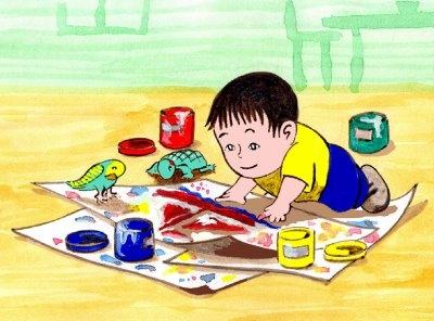 Aprender a dibujar y pintar los niños