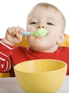 alimentación bebé 1 año