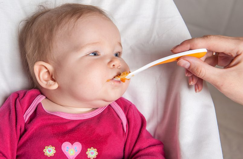 Alimentaci n para el beb de 8 meses cuidado infantil - Alimentacion bebe 7 meses ...