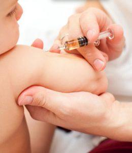 vacunas del bebé de 4 meses