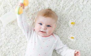 Concepto de estimulación temprana para bebés