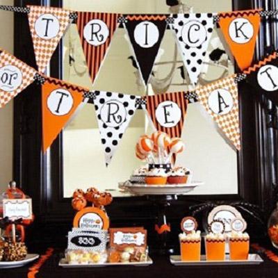 Decoraci n fiesta halloween cuidado infantil - Decoracion halloween infantil ...
