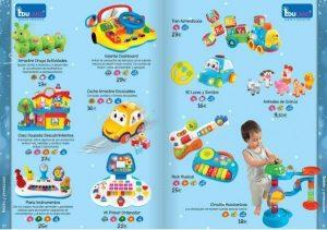 Catálogo de Juguetes para bebés el Corte Inglés 2014