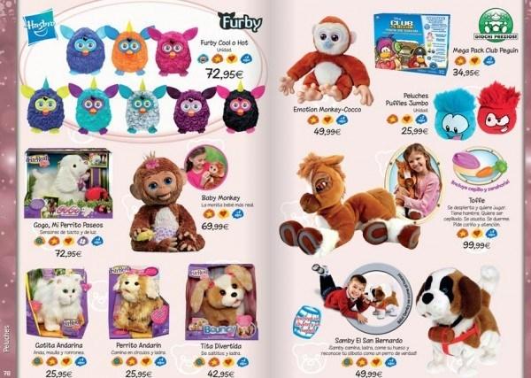 Peluches cat logo de juguetes el corte ingl s 2014 - Catalogo telas el corte ingles ...