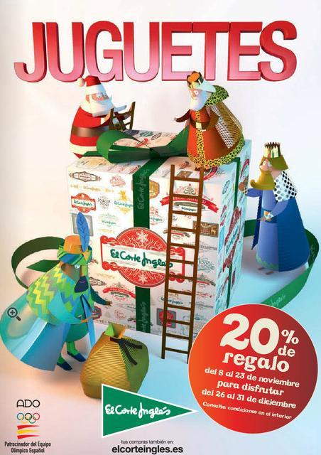 Portada del cat logo de juguetes el corte ingl s 2014 - El corte ingles catalogos ...