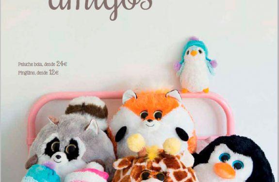 Catálogo de juguetes El Corte Inglés 2015 peluches