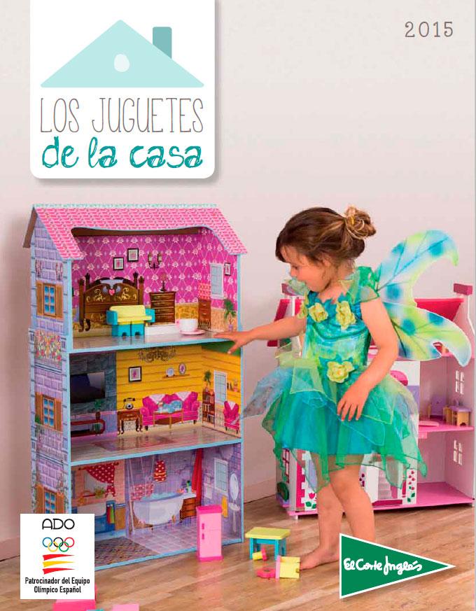 Portada cat logo de juguetes de el corte ingl s cuidado for Catalogo recibidores el corte ingles