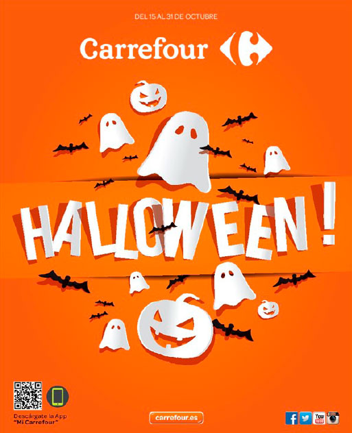Catálogo de disfraces de Halloween de Carrefour 2015
