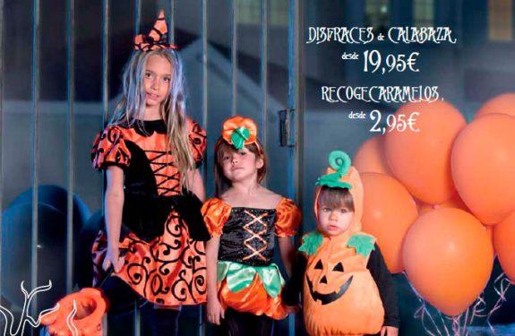 Disfraces de calabaza Halloween niños El Corte Inglés