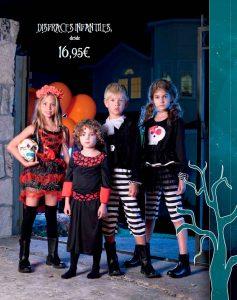 Disfraces infantiles Halloween El Corte Inglés