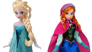 Muñecas de Disney de Frozen Navidad 2015