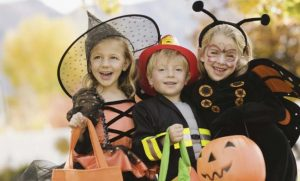 Seguridad para Halloween con niños