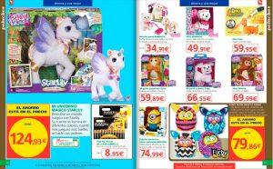 Peluches del catálogo de juguetes de Alcampo Navidad 2015