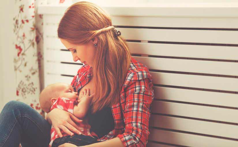 Cómo amamantar al bebé