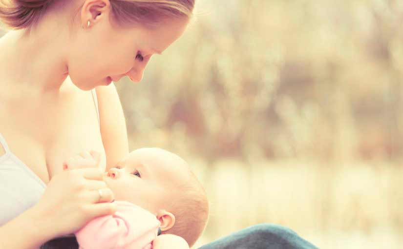 Consejos para empezar la lactancia materna del bebé