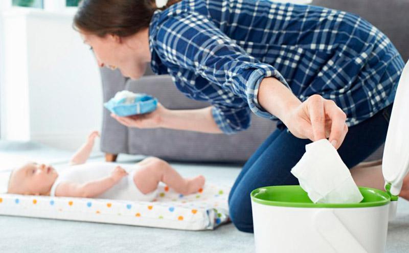 Recomendaciones para secar al bebé