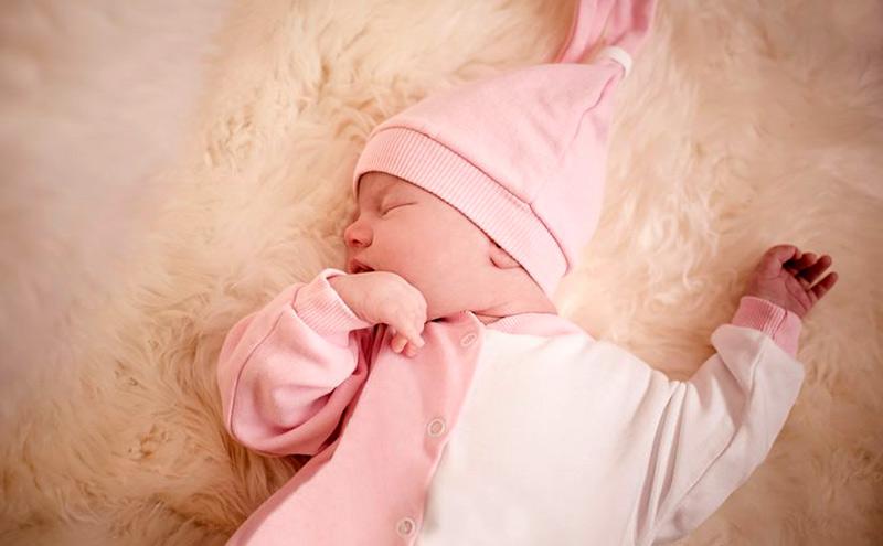 Horas de sueño de un bebé