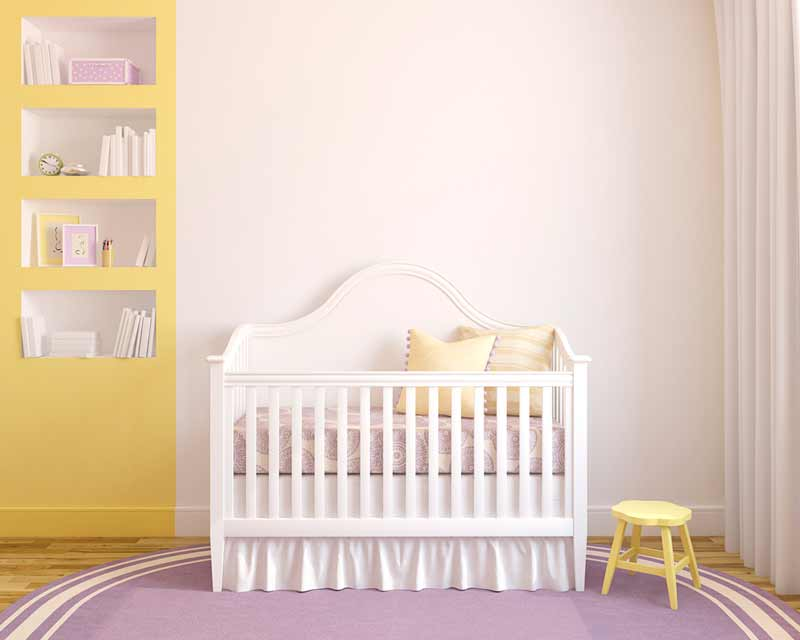 Inspiración para decorar el dormitorio del bebé