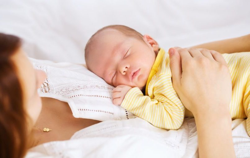 Etapas del sueño del bebé