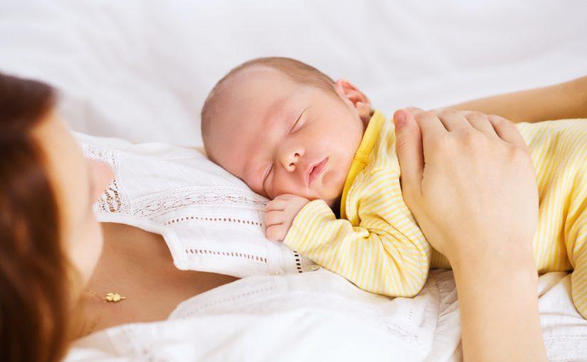 Patrones del sueño en los bebés