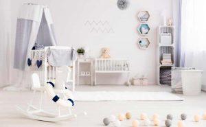 Consejos para organizar el dormitorio del bebé